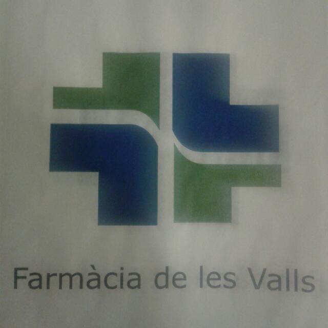 LOGO FARMACIA DE LES VALLS
